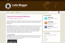 Latte Blogger